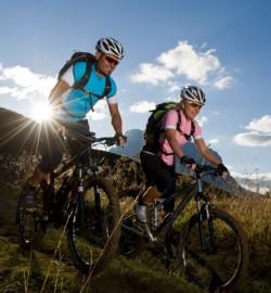 joy of mountain biking sport