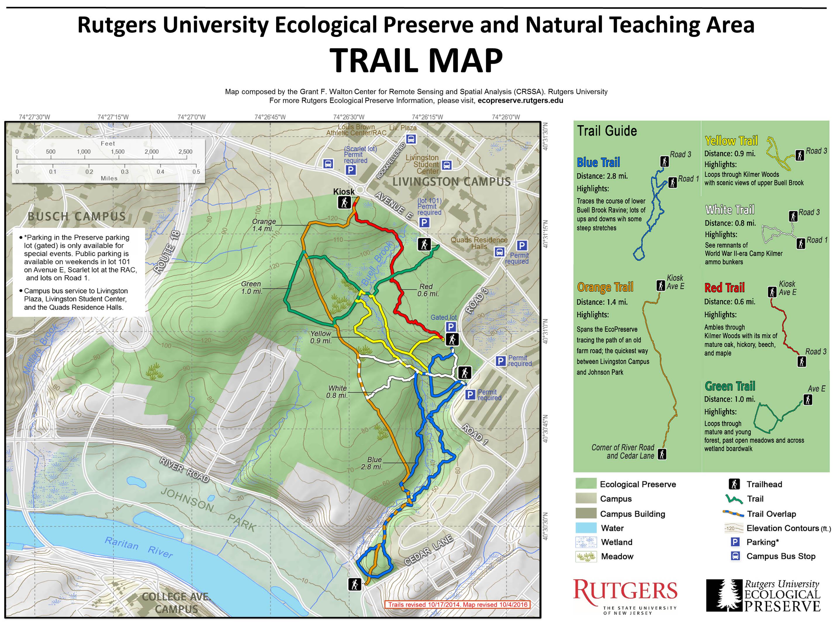 Rutgers University Ecopreserve Naturefind